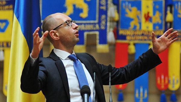 Политолог: драка с Яценюком в Верховной Раде – постановка